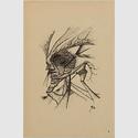 Paul Scheerbart, Jenseitsgalerie, 1907, Blatt 3 von 10, Berlinischen Galerie, Urheberrechte am Werk erloschen, Repro: Kai-Annett Becker