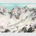 Martina Altschäfer - Alto, 2014, Farbstift und Pastell auf Papier, 126 x 160 cm
