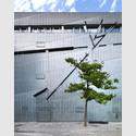 Aussenansicht Jüdisches Museum Berlin, Libeskind-Bau, Detail Fassade. © Jüdisches Museum Berlin, Foto: Jens Ziehe.