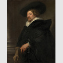 Peter Paul Rubens (1577–1640): Selbstporträt, um 1638, Öl auf Leinwand, 110 cm x 85,5 cm. Kunsthistorisches Museum, Gemäldegalerie, Wien © KHM-Museumsverband.