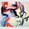Willem De Kooning. Untitled XI, 1982. Öl auf Leinwand, 177,8 x 203,2 cm. Sammlung Looser, Zürich