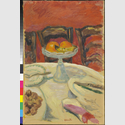 Pierre Bonnard: Les oranges ou Le compotier aux oranges (Die Orangen oder Obstschale mit Orangen), um 1912, Öl auf Leinwand, 68 x 45 cm, Hahnloser/Jaeggli Stiftung, Winterthur, Foto: Reto Pedrini, Zürich © VG Bild-Kunst, Bonn 2016